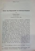 Ueber den Salpausselka im ostlichen Finnland /  О Салпаусселке в восточной Финляндии