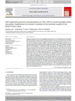 UHT sapphirine granulite metamorphism at 1.93-1.92 Ga caused by gabbronorite intrusions: Implications for tectonic evolution of the northern margin of the North China Craton