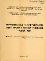 Унифицированные стратиграфические схемы юрских и меловых отложений Средней Азии