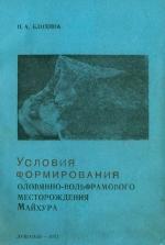 Условия формирования оловянно-вольфрамового месторождения Майхура (Гиссарский хребет)