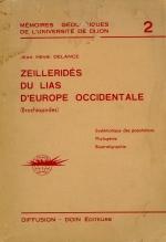 Zellerides du lias D'Europe occidentale (Brachiopodes)