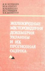 Железорудные месторождения докембрия Украины и их прогнозная оценка