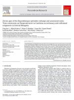 Zircon ages of the Bayankhongor ophiolite mélange and associated rocks: Time constraints on Neoproterozoic to Cambrian accretionary and collisional orogenesis in Central Mongolia