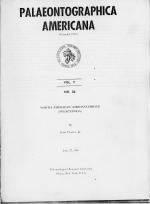 Palaeontolographica America. Vol. 5. North American ambonychiidae (Pelecypoda)