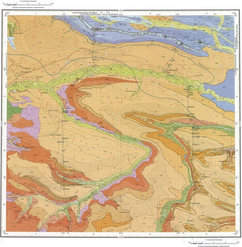 карта Российской