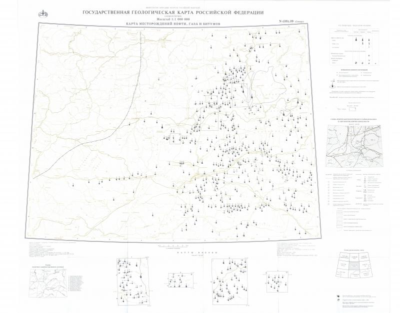 N-38,(39) (Самара). Государственная геологическая карта ...: http://www.geokniga.org/maps/397