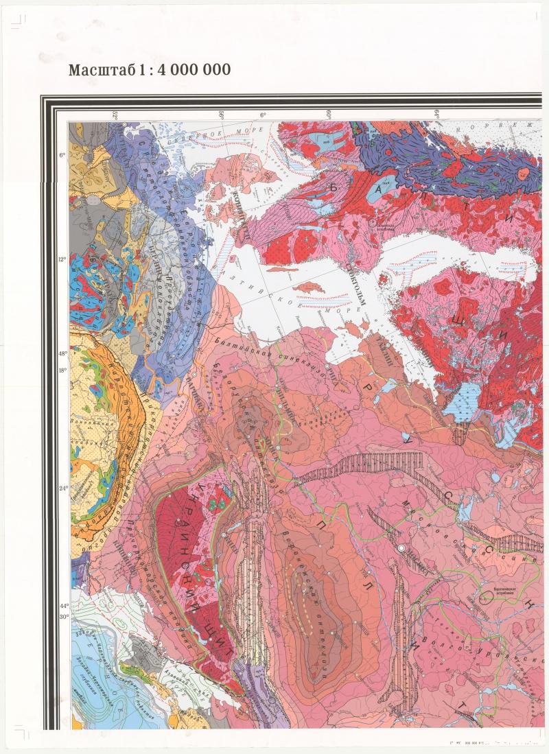 Схема тектонического районирования россии фото 158
