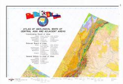 Atlas of geological maps of Central Asia and adjacent areas / Атлас геологических карт Центральной Азии и прилегающих территорий