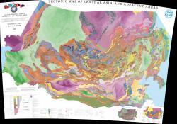 Atlas of geological maps of Central Asia and adjacent areas. Tectonic / Атлас геологических карт Центральной Азии и прилегающих территорий. Тектоническая карта