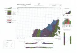 Carino 1/6-2. Mapa geologico de Espana