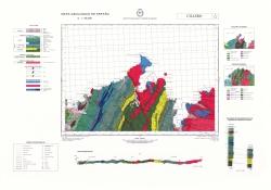 Cillero 2/7-2. Mapa geologico de Espana