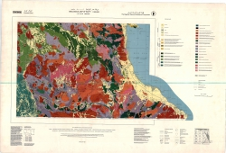 F-36-B (Bernice). Geological map of Egypt