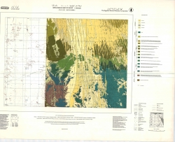 G-35-C (Wadi El-Qubba). Geological map of Egypt