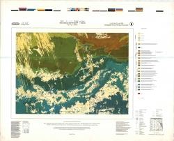 G-35-D (Dakhla). Geological map of Egypt