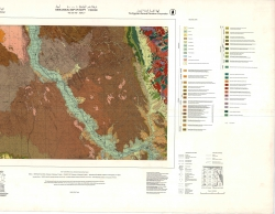 G-36-A (Asyut). Geological map of Egypt