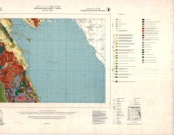 G-36-B (Quseir). Geological map of Egypt