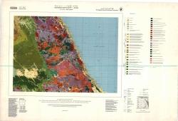 G-36-D (Gebel Hamata). Geological map of Egypt