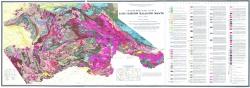 Геологическая карта Алтае-Саянской складчатой области
