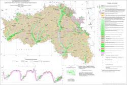 Геологическая карта четвертичных отложений Белгородской области.