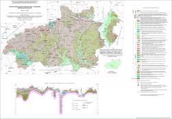 Геологическая карта четвертичных отложений Ивановской области