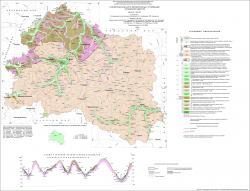 Геологическая карта четвертичных отложений Орловской области.