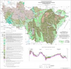 Геологическая карта четвертичных отложений Владимирской области