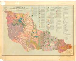 Геологическая карта докембрийских образований Украинского щита