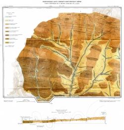 Геологическая карта Ленского золотоносного района. Описание листов IV-1 и IV-2