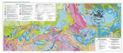 Гидрогеологическая карта Канско-Ачинского угольного бассейна