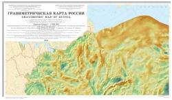 Гравиметрическая карта России