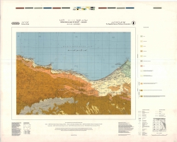 H-35-B (Alexandria). Geological map of Egypt