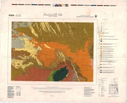 H-35-D (Bahariya). Geological map of Egypt