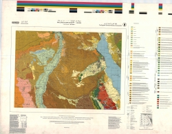 H-36-C (Beni Suef). Geological map of Egypt