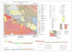 K-34-072-Б. Геоложка карта на Република България М 1:50000