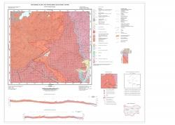 K-34-072-Г Велинград. Геологжка карта на республика България