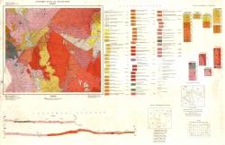 K-34-083 (Разлог). Геоложка карта на България