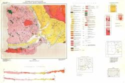 K-34-095 (Струмица, Петрич, Гевгели и Сидирокастрон). Геоложка карта на България