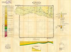 K-34-VI (Calafat-Bechet). Republca socilista Romania. Harta geologica