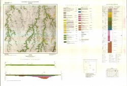 K-35-007 (Дулово). Геоложка карта на България