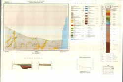 K-35-009 (Генерал Тошево и Мангалия). Геоложка карта на България