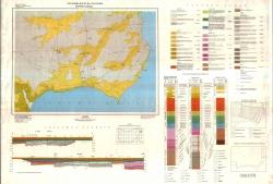 K-35-021 (Бальчик и Шабла). Геоложка карта на България