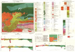 K-35-040 (Твърдица). Геоложка карта на България