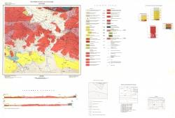 K-35-050 (Карлово). Геоложка карта на България