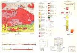 K-35-051 (Казанлък). Геоложка карта на България