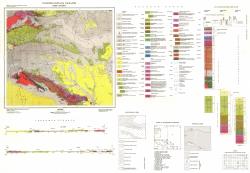 K-35-053 (Нова Загора). Геоложка карта на България