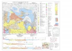 K-35-061-Г (Пещера). Геоложка карта на република България