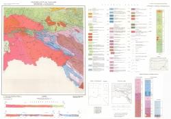 K-35-067 (Желязково и Къркларели). Геоложка карта на България
