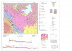 K-35-073-А (Батак). Геоложка карта на република България