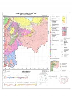 K-35-085-А (Доспат); K-35-085-В (Потами). Геоложка карта на република България
