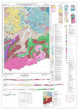 K-35-087-Г(Джебел); K-35-099-Б (Кирково). Геоложка карта на република България